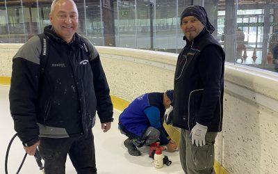 Eisvorbereitung für die neue Saison 2020/21